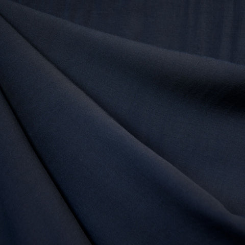 Rayon Batiste Solid Midnight Blue