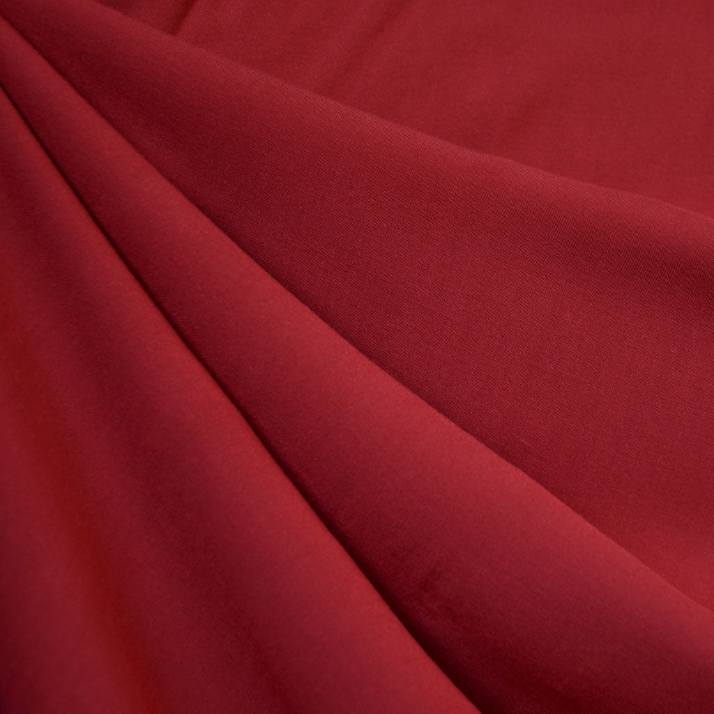 Rayon Batiste Solid Ruby - Fabric - Style Maker Fabrics