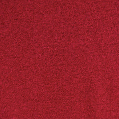 Boiled Wool Blend Coating Ruby Red - Fabric - Style Maker Fabrics