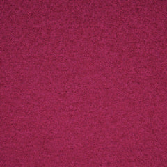 Boiled Wool Blend Coating Raspberry SY - Sold Out - Style Maker Fabrics