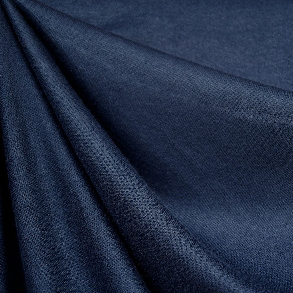 Soft Brushed Sweater Knit Solid Navy - Fabric - Style Maker Fabrics