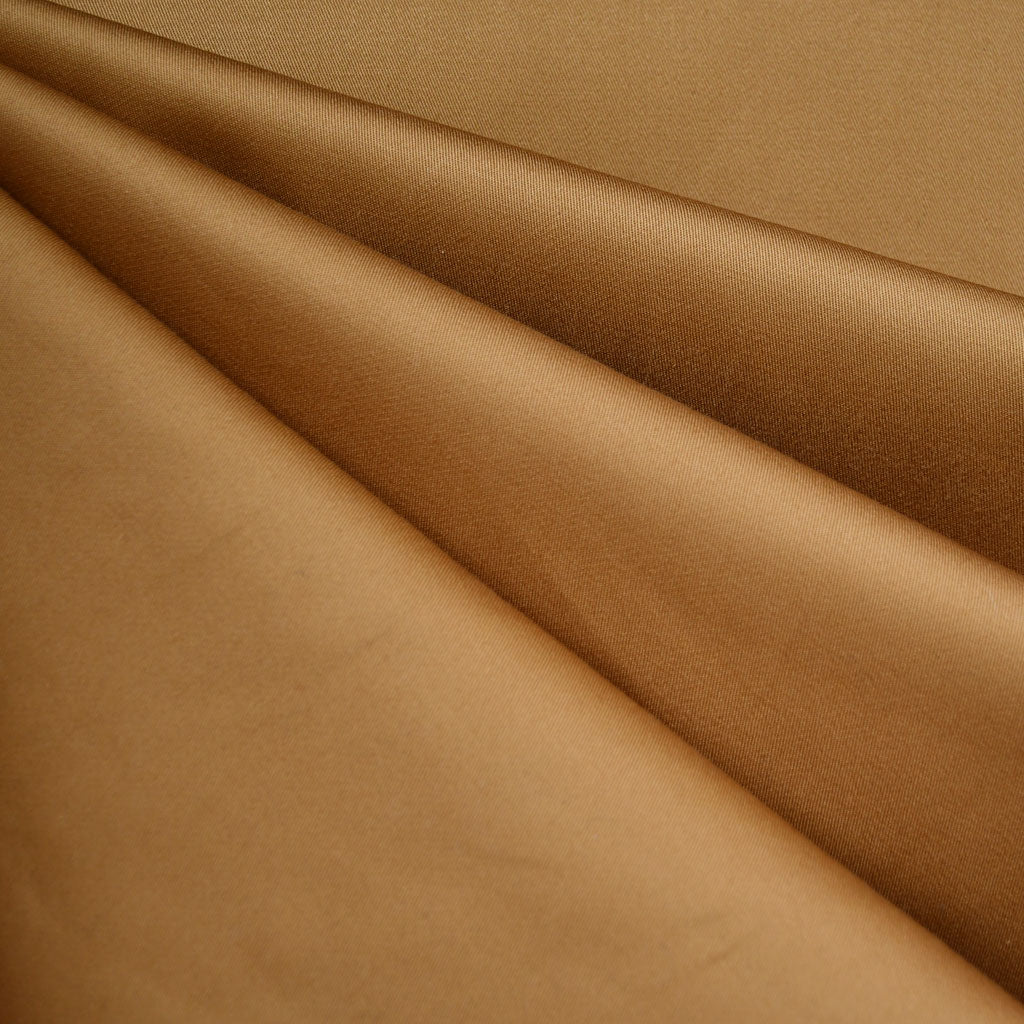 Classic Stretch Twill Solid Butterscotch - Fabric - Style Maker Fabrics
