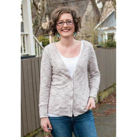 Straight Stitch Designs Phinney Ridge Cardigan