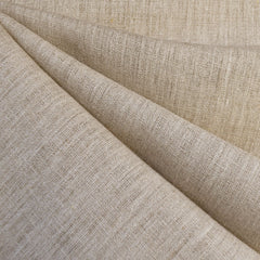Designer Linen Suiting Solid Natural - Fabric - Style Maker Fabrics