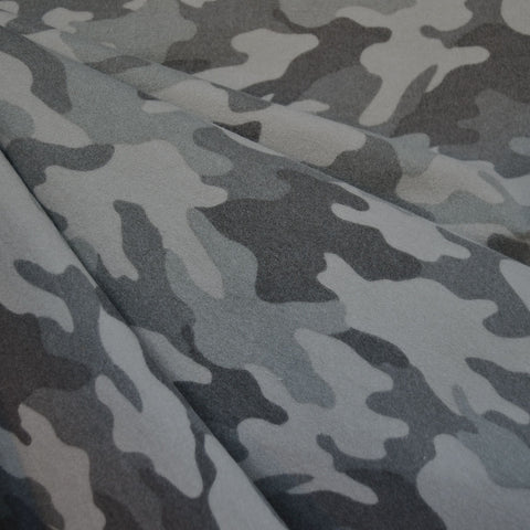 Cozy Camouflage Flannel Grey
