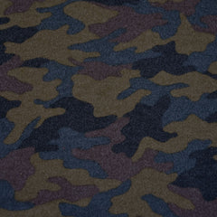 Cozy Camouflage Flannel Olive - Fabric - Style Maker Fabrics