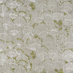 Japanese Nani Iro Situation Floral Double Gauze Sand - Fabric - Style Maker Fabrics