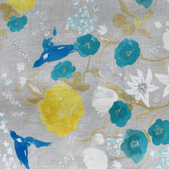 Japanese Nani Iro Fuccra Floral Linen Natural SY - Sold Out - Style Maker Fabrics