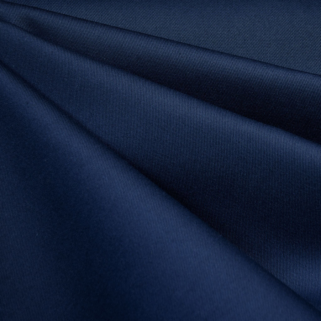 Classic Cotton Twill Solid Navy - Fabric - Style Maker Fabrics