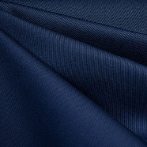 Classic Cotton Twill Solid Navy