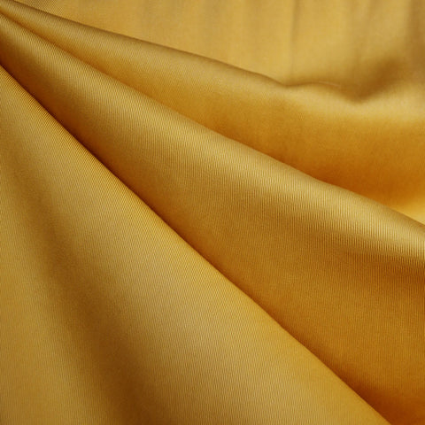 Tencel Twill Solid Bottom Weight Mustard