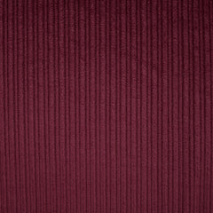 Wide Wale Stretch Corduroy Cranberry - Fabric - Style Maker Fabrics