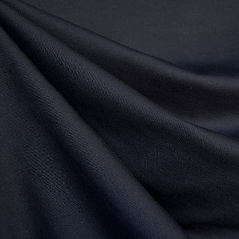 Classic Ponte Knit Solid Midnight Blue