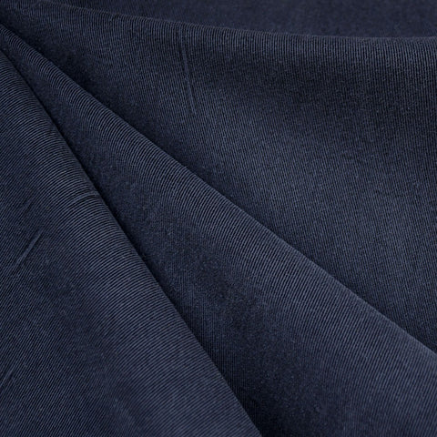 Soft Washed Tencel Twill Solid Navy