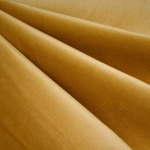 Classic Mid Wale Corduroy Solid Mustard