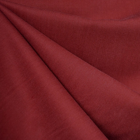 Soft Tencel Twill Solid Cranberry