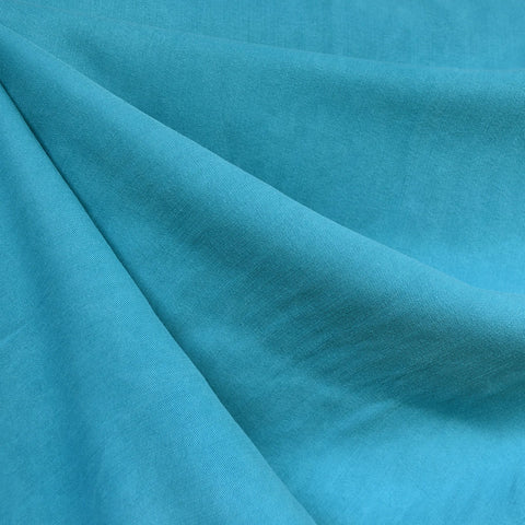 Soft Tencel Twill Solid Aqua