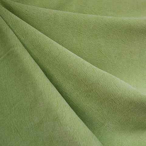 Soft Washed Tencel Twill Solid Apple SY
