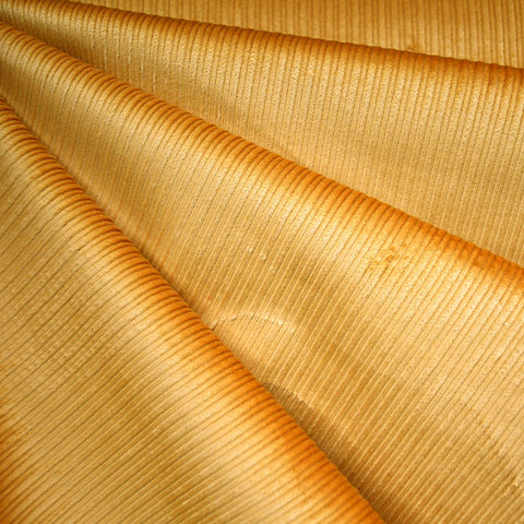 Wide Wale Stretch Corduroy Mustard