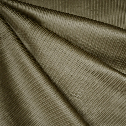 Wide Wale Stretch Corduroy Olive