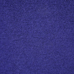 Boiled Wool Blend Coating Sapphire - Fabric - Style Maker Fabrics