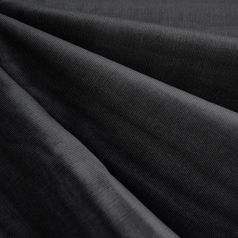 Pinwale Corduroy Shirting Charcoal