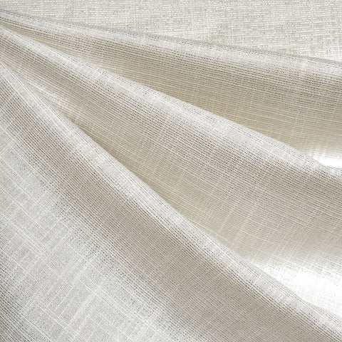 Manchester Metallic Shirting Cream/Silver