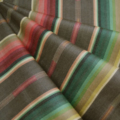 Southwest Inspired Woven Stripe Shirting Taupe - Sold Out - Style Maker Fabrics