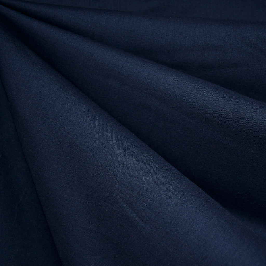 Cotton Voile Solid Navy - Fabric - Style Maker Fabrics