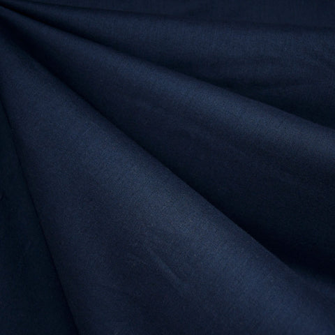 Cotton Voile Solid Navy