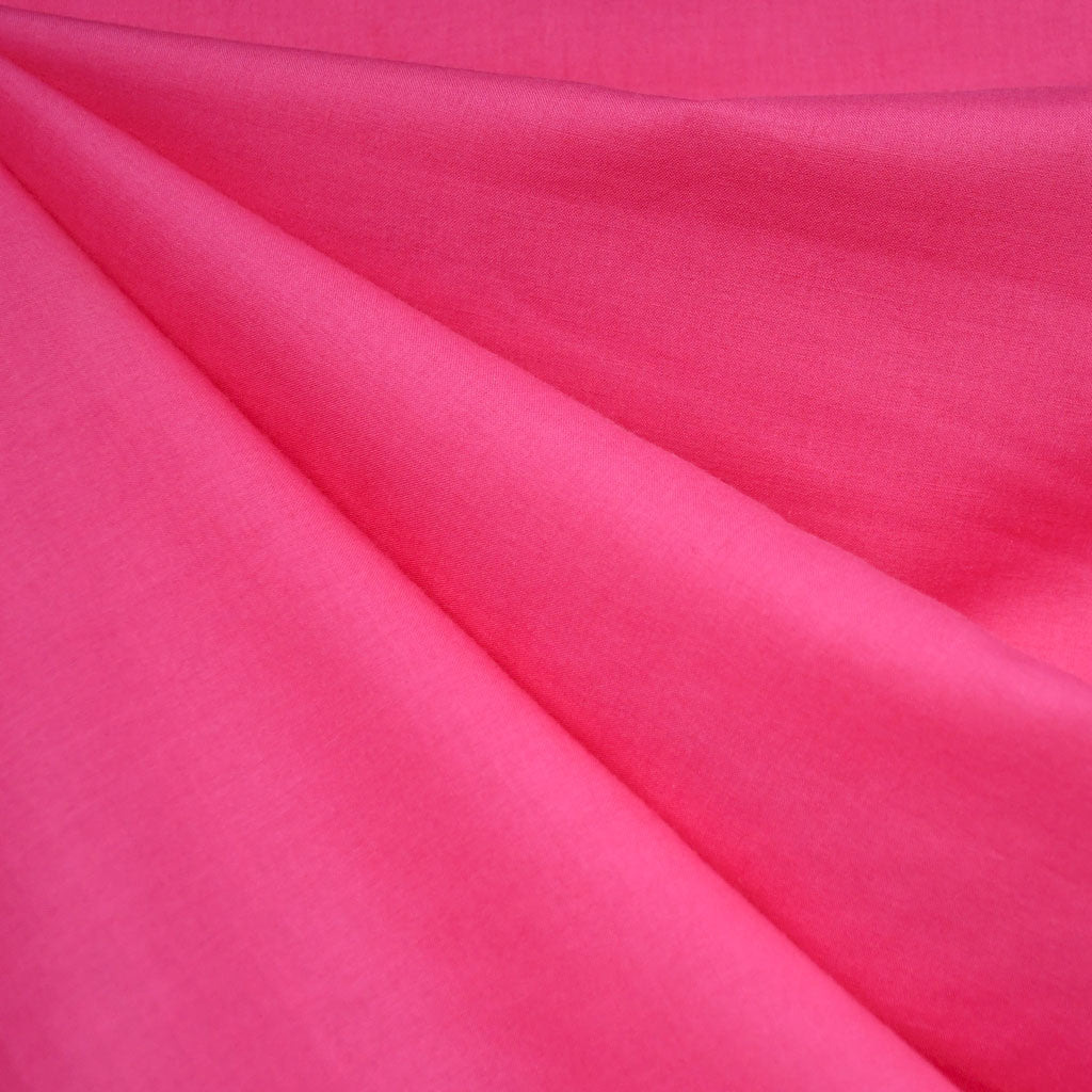 Cotton Voile Solid Fuchsia - Fabric - Style Maker Fabrics