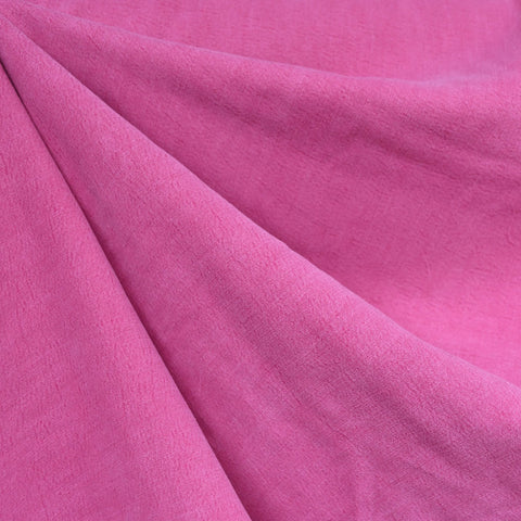 Soft Washed Tencel Twill Solid Magenta