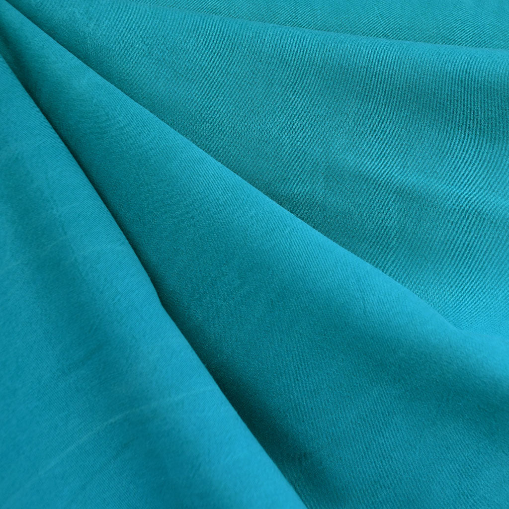 Soft Tencel Twill Solid Turquoise - Sold Out - Style Maker Fabrics