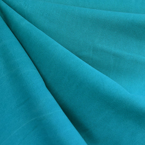 Soft Tencel Twill Solid Turquoise