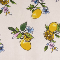 Spring Citrus Rayon Crepe Soft Peach - Sold Out - Style Maker Fabrics