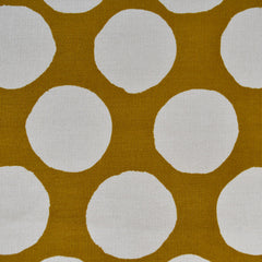 Japanese Polka Dot Corduroy Shirting Mustard - Fabric - Style Maker Fabrics