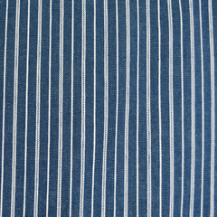 Railroad Stripe Light Weight Stretch Denim Blue - Fabric - Style Maker Fabrics