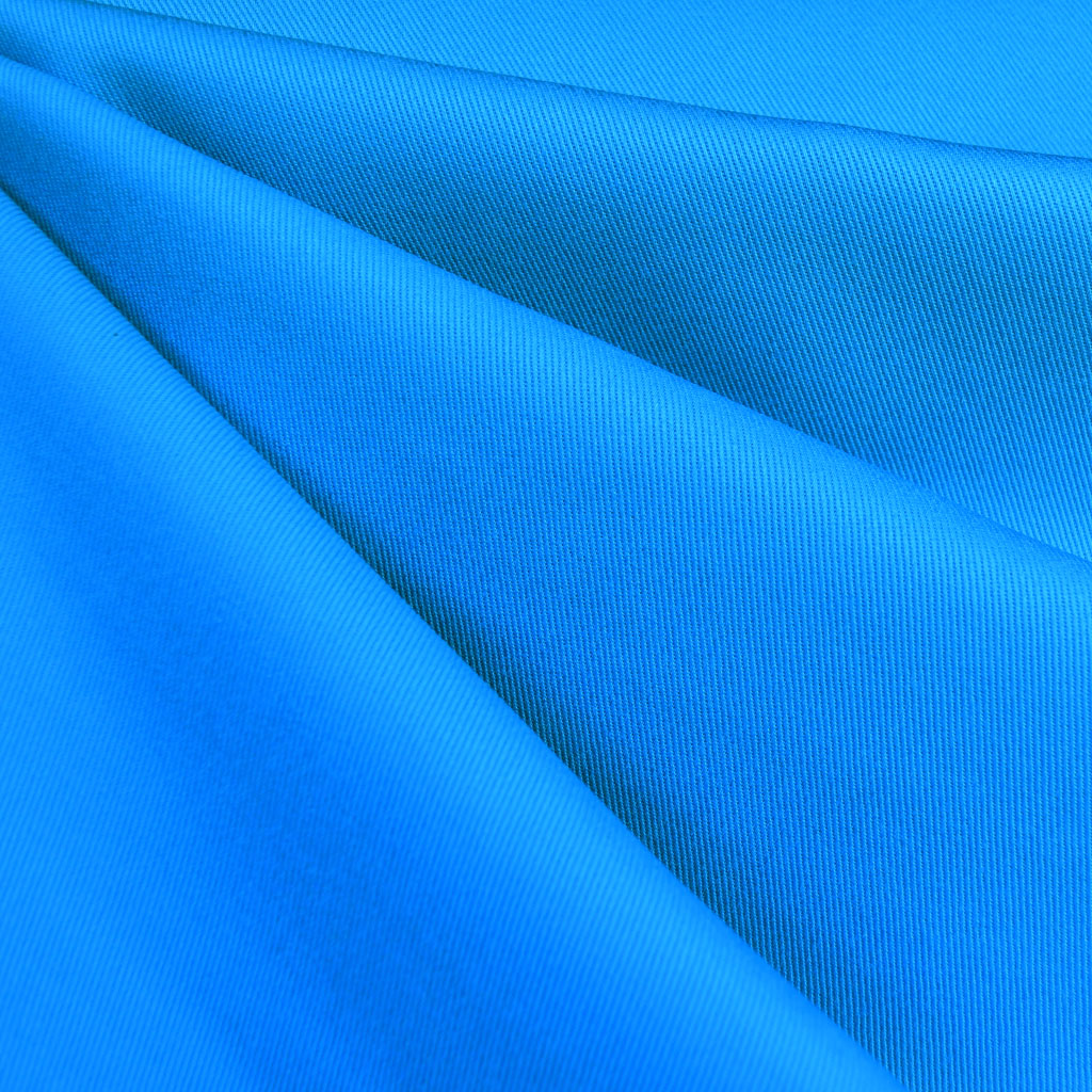 Ventana Cotton Twill Solid Turquoise - Fabric - Style Maker Fabrics