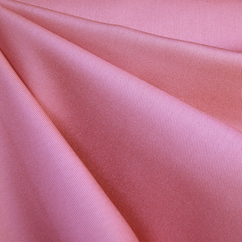 Ventana Cotton Twill Solid Rose - Fabric - Style Maker Fabrics
