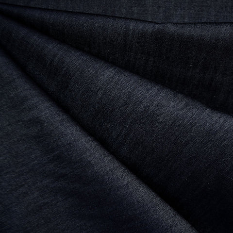Soft Tencel Denim Shirting Solid Indigo