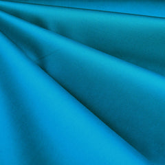 Classic Stretch Sateen Solid Turquoise SY - Sold Out - Style Maker Fabrics