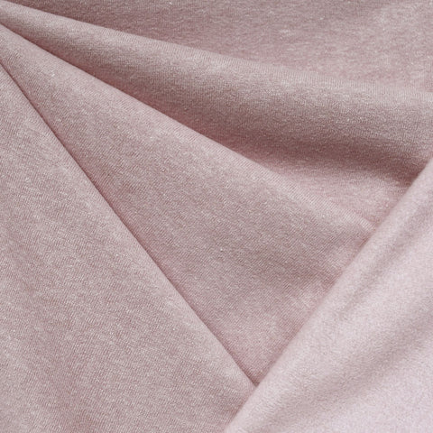 Cozy Eco Sweatshirt Fleece Solid Blush—Preorder
