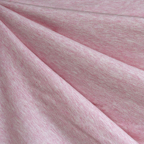 Organic Cotton Jersey Knit Heather Pink
