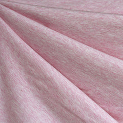 Organic Cotton Jersey Knit Heather Pink - Fabric - Style Maker Fabrics