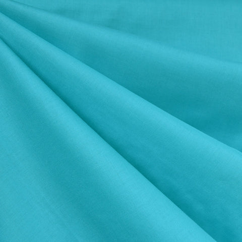 Cotton Voile Solid Turquoise—Preorder