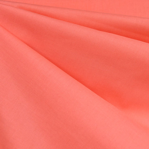 Cotton Voile Solid Coral SY