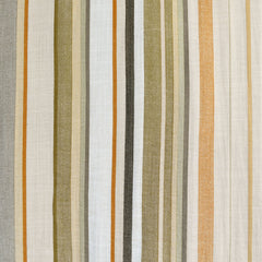 Textured Summer Stripe Shirting Olive/Natural - Fabric - Style Maker Fabrics