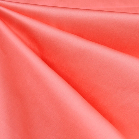 Classic Stretch Sateen Solid Coral