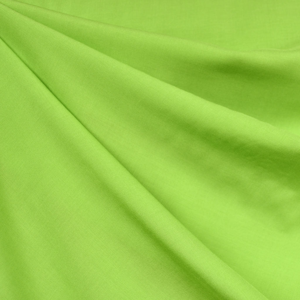 Rayon Batiste Solid Lime - Fabric - Style Maker Fabrics
