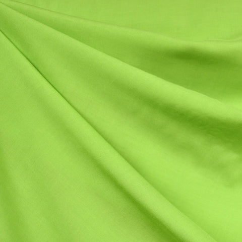 Rayon Batiste Solid Lime SY